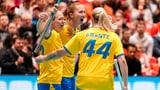 Schweden wahrt die Chance auf das nächste WM-Gold (Artikel enthält Video)