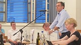 Die St. Galler SVP setzt auf auf Roland Rino Büchel (Artikel enthält Audio)