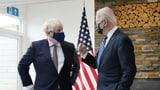 Johnson und Biden untermauern «besondere Verbundenheit» (Artikel enthält Video)