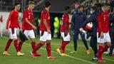 Schweiz droht in WM-Qualifikation aus Topf 1 zu fallen (Artikel enthält Video)