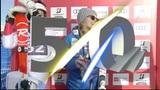 Was soll das 50-er Zeichen an den Ski-Rennen?