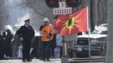 Kanadische Polizei räumt Schienenblockade durch Ureinwohner (Artikel enthält Audio)