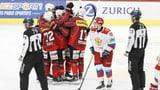 Glänzende Schweizer Nati deklassiert Russland