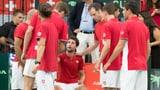 Schweiz verliert Davis-Cup-Barrage gegen Schweden (Artikel enthält Video)