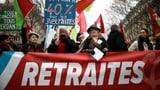 Proteste gegen die Rentenreform gehen in eine neue Runde (Artikel enthält Audio)