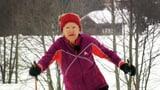 Video «Skimarathon Ü80 – Grosse Leistung im hohen Alter» abspielen
