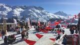 Duas emnas nagina scola da skis a Salastrains (Artitgel cuntegn galaria da maletgs)