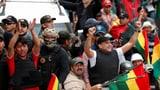 Boliviens Ex-Präsident flüchtet ins Exil (Artikel enthält Video)