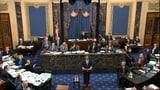 Zähe Debatte über Impeachment im US-Senat (Artikel enthält Video)