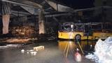 20 Postauto-Busse zerstört (Artikel enthält Audio)
