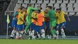 Tor in der 100. Minute: Casemiro schiesst Brasilien zum Sieg