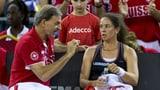Schweizer Fed-Cup-Team steigt ab (Artikel enthält Video)