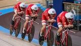 Dänemarks Vierer mit weiterem Weltrekord zu Gold