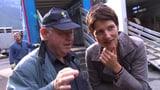 Kathrin Winzenried auf jüdischen Spuren im Aargau (Artikel enthält Video)