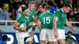 Irland sichert sich gegen Samoa das Viertelfinal-Ticket