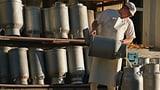 Milch-Schwemme drückt Preise  (Artikel enthält Audio)