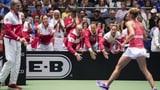Schweiz wahrt Chancen dank Golubic (Artikel enthält Video)