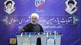 Präsident Rohani dürfte Mehrheit verlieren (Artikel enthält Video)