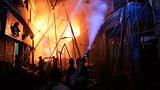 Dutzende Tote bei Grossfeuer (Artikel enthält Video)