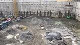 Sprengungen in der Baugrube halten Anwohner auf Trab (Artikel enthält Video)