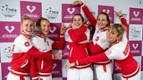 Schweizer Fed-Cup-Team eröffnet Finaltunier (Artikel enthält Video)