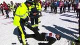 Video «Mit dem Rennarzt am Engadiner Skimarathon» abspielen