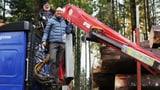 Video ««Vier zum Volk» (1/4): Martin Candinas im Lastwagen» abspielen