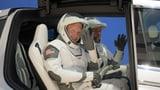 Nasa-Astronauten fliegen wieder ins All mit Raketen von Elon Musk (Artikel enthält Video)
