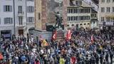 Unbewilligte Kundgebung in Altdorf (UR) von Polizei aufgelöst (Artikel enthält Video)