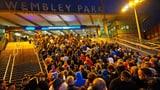 Im Halbfinal: 60'000 Fans im Wembley zugelassen