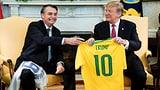 Trump bringt Nato-Mitgliedschaft Brasiliens ins Spiel (Artikel enthält Audio)