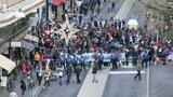 Extinction Rebellion blockiert zentrale Strasse in Lausanne (Artikel enthält Video)