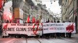Berna: Demonstraziun cunter il WEF