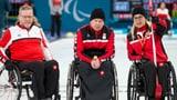 Schweizer Rollstuhl-Curler ausgeschieden (Artikel enthält Video)