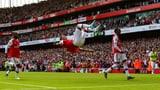 Aubameyang schiesst Arsenal erneut zum Sieg