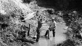 Wie die Schweiz ihre Flüsse und Bäche bändigte (Artikel enthält Bildergalerie)