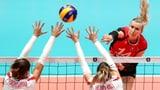 Schweizer Volleyballerinnen auch gegen die Slowakei chancenlos (Artikel enthält Video)