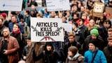EU-Urheberrecht treibt Zehntausende auf die Strassen (Artikel enthält Video)