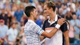 Coup in Cincinnati: Medwedew schaltet Djokovic aus (Artikel enthält Video)