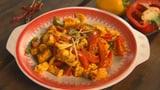 Vegetarisches Curry: Paneer Jalfrezi