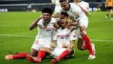 Sevilla schiesst sich spät in den Halbfinal