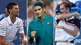 Djokovic, Federer oder doch «Schleckmaul» Medwedew? (Artikel enthält Video)