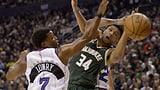 Revanche für Playoff-Out geglückt: Bucks besiegen die Raptors