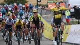 Auftakt der Dauphiné: Van Aert triumphiert