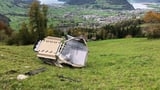 Eine Gondel der Rothenfluhbahn stürzte ab (Artikel enthält Audio)