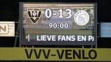 13:0 – Ajax mit höchstem Sieg der Eredivisie