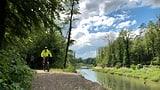 Reto Scherrer unterwegs in der Aargauer Auenlandschaft (Artikel enthält Bildergalerie)
