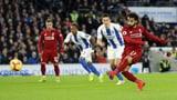 Salah trifft vom Punkt: Liverpool legt vor