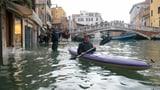 Venedig drohen neue Überflutungen (Artikel enthält Audio)