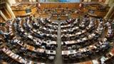 Kandidatenflut für den Nationalrat (Artikel enthält Audio)